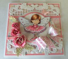 Top Three: April 2014 - card by Sue Harvey using Angelica & Friends