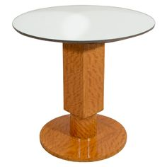 Side Table by Jules Leleu   From a unique collection of antique and modern side tables at http://www.1stdibs.com/furniture/tables/side-tables/