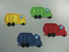 Flannel Friday: Garbage Trucks   Read It Again!
