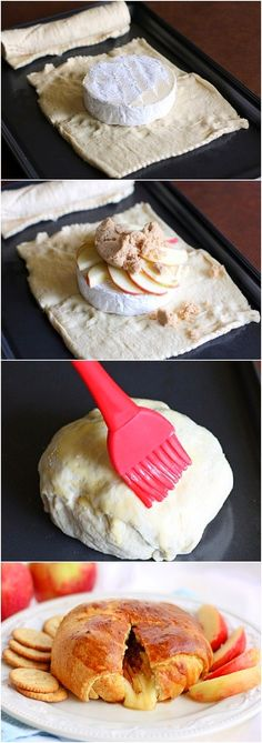 Crescent Roll Baked Brie Recipe