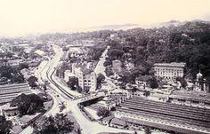 Kuala Lumpur (Sulaiman Building, Railway station, Majestic Hotel) 1950s