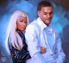 Chris Brown and Nicki, Right By My Side