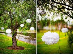 El rincón de Sperides: Decorar el jardín de la boda