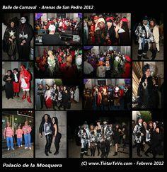 Baile de Carnaval 2012 de Arenas de San Pedro, organizado por la Asociación de Amigos del Palacio de la Mosquera.