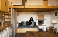 My micro apartment: photographer Andrea Wyner's capsule home in Milan