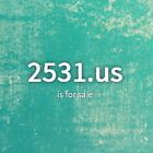 four numbers domain name for sale 2531.us