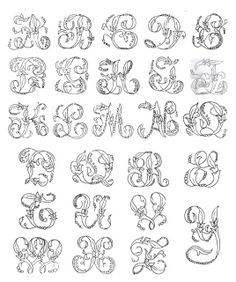 The Textile Blog: The Role of Embroidered Alphabets