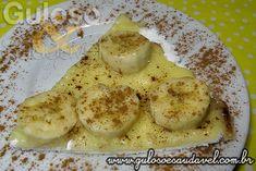 Tapioca de Banana com Queijo » Massas, Pães e Salgados, Receitas Saudáveis » Guloso e Saudável