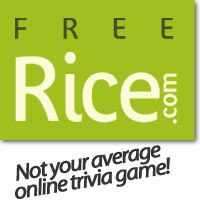 Hunger is the world's greatest solvable problem! Rice up against hunger!~ Play online trivia to earn rice! For every right answer 10 grains of rice are donated. This is awesome