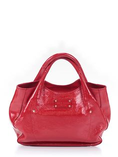 Kate Spade New York Leather Satchel #red