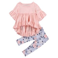Lyra Floral Clothing Set – Petite Bello #babygirloutfits