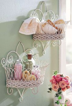 15 Shabby Chic Home Decoration Ideas To Steal 12 #shabbychicbathroomspink #shabbychicbathroomsshelves