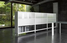 Sapporo storage system.  Design Jesus Gasca.  Produced in Spain by STUA: