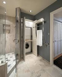 Master Bedroom Walk In Closet With Washer Dryer Google Search Laundry Room Bathroom Laundry Room Storage Shelves Small Laundry Room Organization