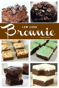 Easy to make keto friendly low carb brownies for every day snacking.