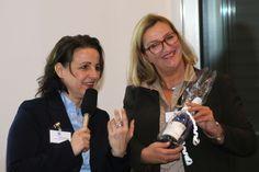 Claudia Baumer, VP Business Development Acoris AG, und Nicole M. Pfeffer, Managing Director mmp