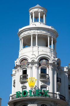 Gran Vía de Madrid   Flickr: Intercambio de fotos