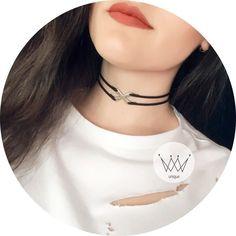 """77 Beğenme, 1 Yorum - Instagram'da Unique accessories (@unique.made): """"🌟X choker 🌟15₺ • (Çok sevilen X choker yeni renkleri geliyor ☺️) • Alışılmışlığın dışındı ✔️ •…"""""""