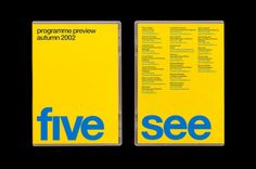 Spin / Channel 5 / Dvd Sleeve / 2002