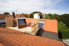 Dachterrasse mit Strandkorb