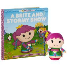Take a look at this A Brite & Stormy Snow Hardcover Storybook & Plush Toy today! Mcdonalds Toys, Rainbow Brite, Polly Pocket, Sailor Scouts, Doll Toys, Dolls, Action Figures, How To Memorize Things, Plush