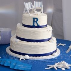 FOUR SIMPLE WEDDING CAKE IDEAS