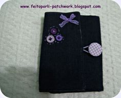 Feito por Li - Patchwork e Crafts  Porta Agulhas de Crochet