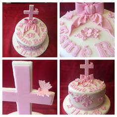 Christening Cake made by me Elena Purton.