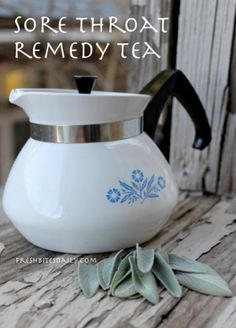 This tea really does help a sore throat (who knew...)