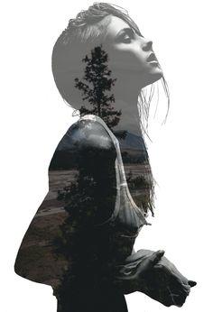 Double Exposure Photoshop by Marti Sanchis Aibar The model is Caroline Kristiansen Let me know if u like it :p