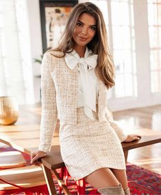 I would rock this to work with my nude official heels. Who else would rock this look and what would you pair it with? Yay or Nay? Adrette Outfits, Preppy Outfits, Girly Outfits, Office Outfits, Classy Outfits, Fall Outfits, Fashion Outfits, Classy Business Outfits, Fashion Hacks