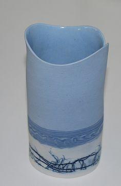Lene Regius, Denmark, vase in porcelain | Flickr - Photo Sharing!