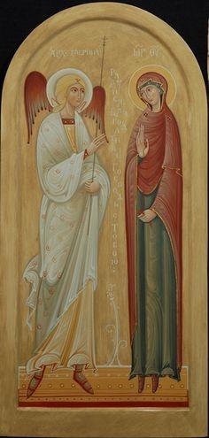 """ΜΡ.ΘΥ__""""Ευαγγελισμός της Υπεραγίας Θεοτόκου """" Annunciation. _ march 25      ( 2013.by Olga Shalamova"""