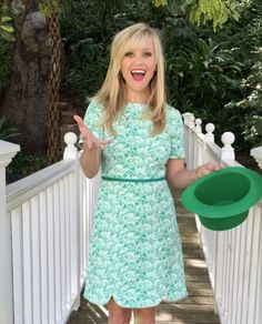 Reese Witherspoon St. Patrick's - Celebs celebrating St. Patrick's Day