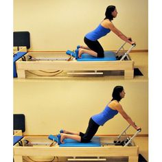Pilates knee stretches
