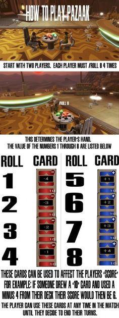 How to Play Pazaak in the #SWTOR