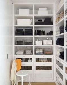 Steal This Look: The Organized Closet that Divides and Conquers Clutter | Photograph by Matthew Williams for Remodelista: The Organized Home