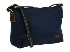 Dooney & Bourke Nylon Crossbody Pouchette Navy/Black - Zappos.com Free Shipping BOTH Ways