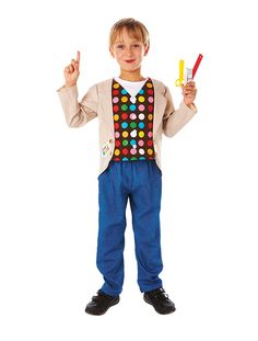 Christys Dress Up Mister Maker Costume - 5 Years) Mister Maker Crafts, Art And Craft Shows, Creative Play, Craft Party, Craft Kits, 5 Years, Teaching Kids, 2nd Birthday, Fun Facts