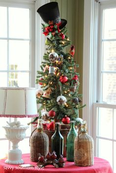 Savvy Southern Style: Holiday Sun Room 2011