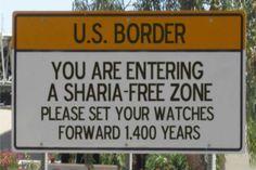 NO SHARIA in AMERICA