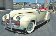 1940 Oldsmobile F Series 60 Convertible: Drivers Side Front View