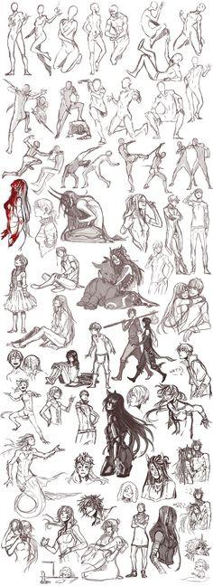 Sketch dump 26 by Namonn