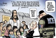 They would absolutely try to deport Jesus