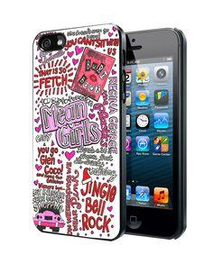 Mean Girls Lyrics iPhone 4 4S 5 5S 5C Case