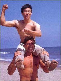 Bruce Lee & Van Williams