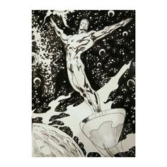 Silver surfer. Marvel.