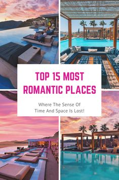 Get ready to explore the most romantic destinations (in no particular order!) and spend some wonderful time. Choose your dream destination for your honeymoon or a romantic break to remember forever!. Beautiful romantic destinations. #romanticdestinations #romanticgetaways #romanticplacestotravel #honeymoon #honeymoongetaways #honeymoondestinations #romanticplaces Romantic Destinations, Romantic Places, Romantic Travel, Vacation Destinations, Dream Vacations, Vacation Spots, Romantic Vacations, Romantic Getaways, Solo Travel