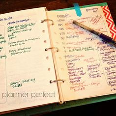 Planner Perfect