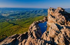 Stony Man Mountain in Virginia.